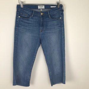 Frame Denim Cutoff Jeans